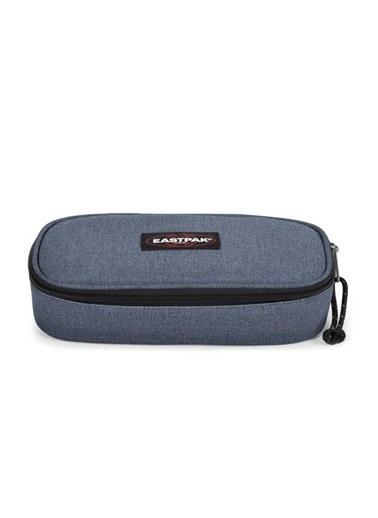 Eastpak Oval Single Crafty Jeans Kalem Çantası EK00071742X1 Renkli